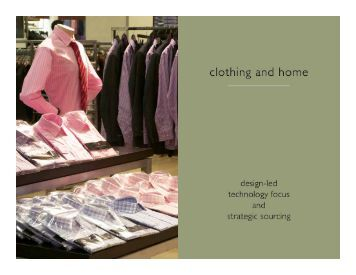 Clothing and Home - Woolworths Holdings Limited