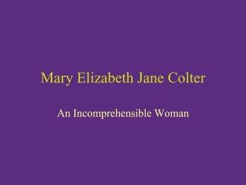 Mary Elizabeth Jane Colter - Grand Canyon Association