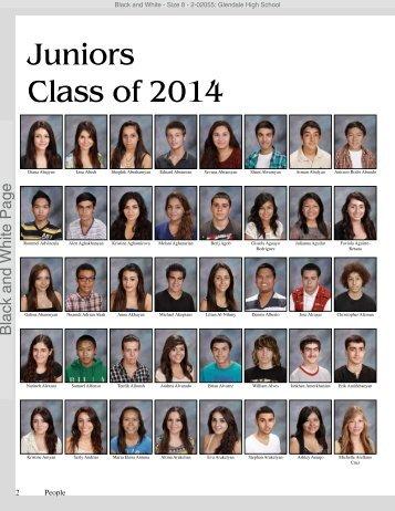 Juniors Class of 2014 - Glendale High School