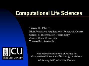 Computational Life Sciences - OVSCLUB