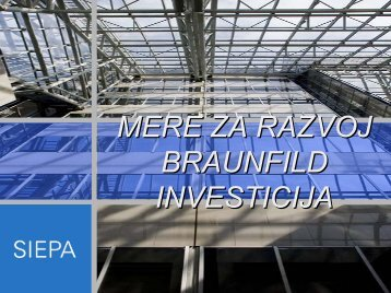 SIEPA - partner za nove investicije