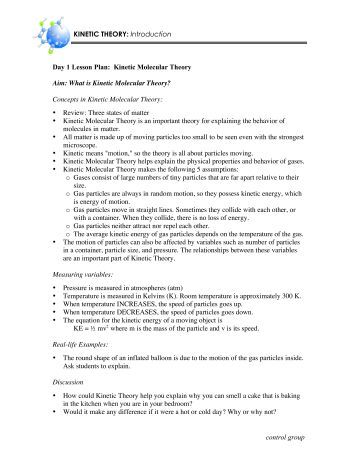 worksheet 8 partial pressures and the kinetic molecular. Black Bedroom Furniture Sets. Home Design Ideas