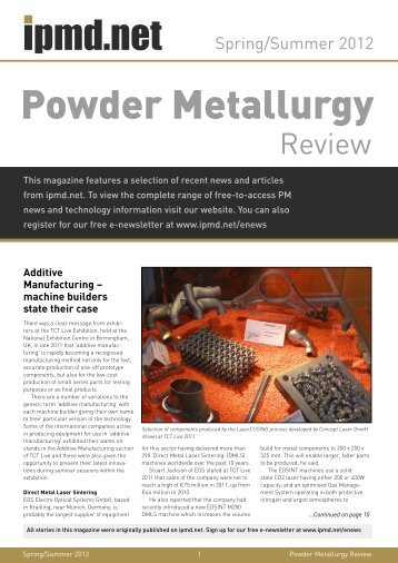Standard Test Methods for Metal Powders and Powder Metallurgy ...