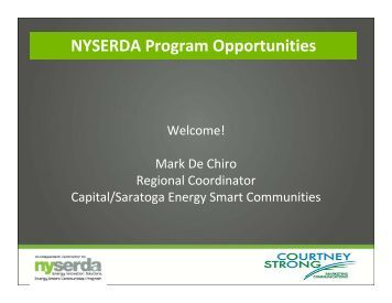 NYSERDA Opportunities - Capital District Regional Planning ...