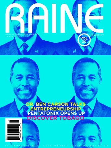 RAINE MAGAZINE Volume 20 | Innovate