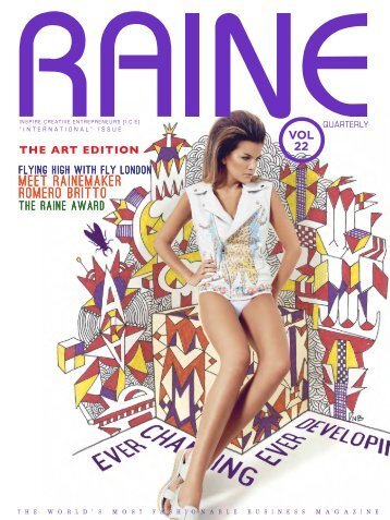 RAINE MAGAZINE Volume 22   International
