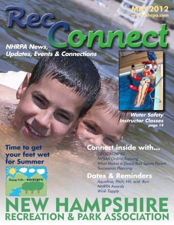 MAY 2012 - New Hampshire Recreation and Park Association