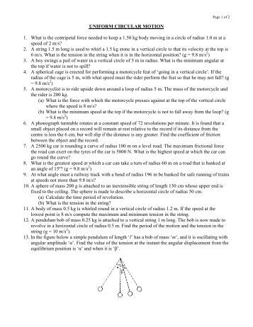 circular motion notes 12th pdf