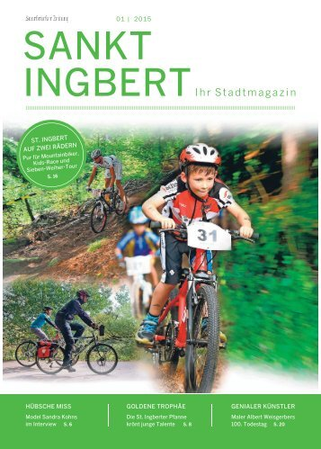 Stadtmagazin St. Ingbert 01|2015