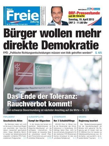 Bürger wollen mehr direkte Demokratie