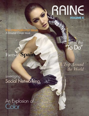RAINE MAGAZINE Volume 5 | International