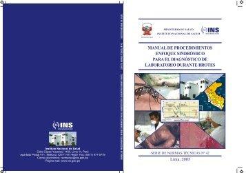 manual de procedimientos enfoque sindrómico para el ... - BVS - INS
