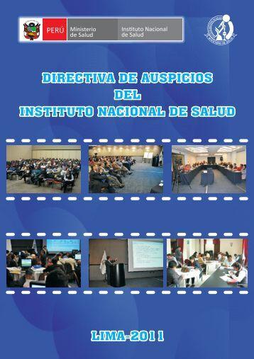 Texto completo - BVS - INS - Instituto Nacional de Salud