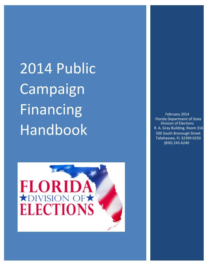 an introduction to the campaign financing of elections Assembly introduces stronger 2013 fair elections act to establish public financing option with the introduction of an important campaign finance reform bill.