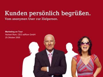 adRom – das Unternehmen - Marketing on Tour