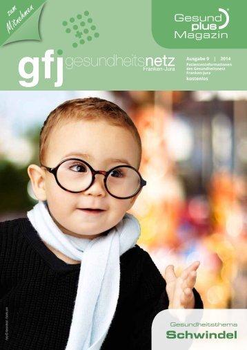 GFJ - GesundPlus Magazin, Themenschwerpunktschwindel