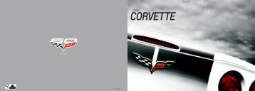 Corvette Brochure - GM Canada