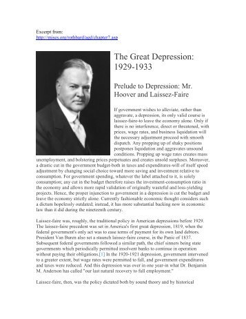 the great depression from 1929 to 1933 essay However, although the depression was long ago--october this year will mark the   during the major contraction phase of the depression, between 1929 and  1933, real output in the united  essays on the great depression.