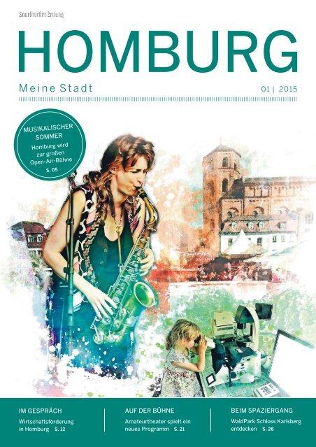 Stadtmagazin Homburg 01|2015