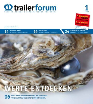 KRONE trailerforum 1-2015