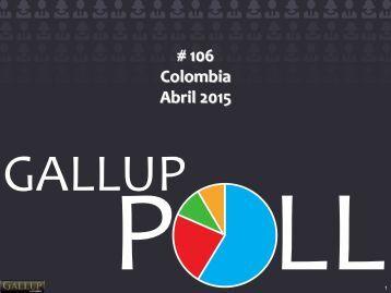Gallup Poll # 106