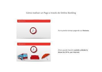 Cómo realizar un Pago a través de Online Banking - Banco ...