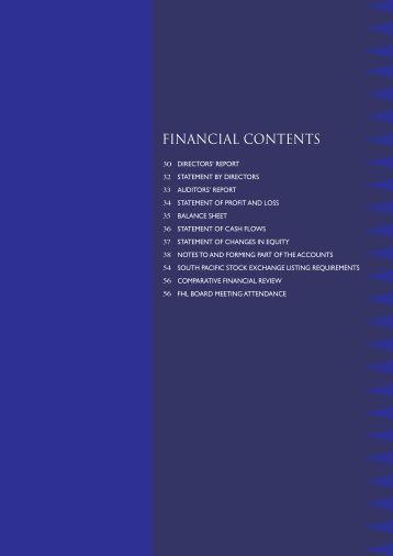 fhl financial 2002 - Fijian Holdings Limited