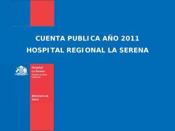 Cuenta Publica 2011 - Servicio de Salud Coquimbo - Home