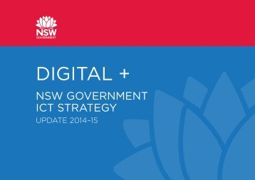 Digital+ NSW Government ICT Strategy Update 2014-15