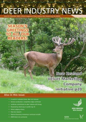 Deer Industry News - Deer Industry New Zealand