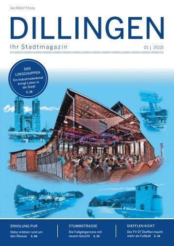 Stadtmagazin Dillingen 01|2015