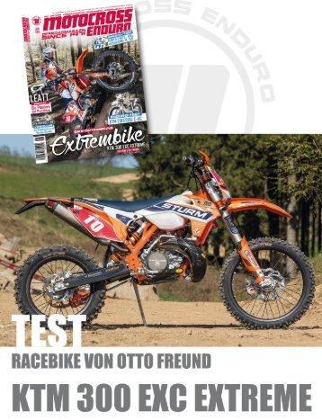 Sturm KTM 300 EXC EXTREME – das Racebike von Otto Freund / TEST 2015
