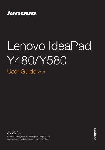 Lenovo IdeaPad Y480/ Y580