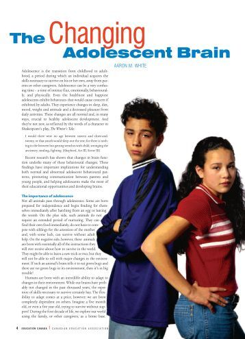 the fundamental changes of adolescence essay By sabine walter, pierre a lehu  if you're entering adolescence, it means you're on the road to adulthood adolescence is turbulent — the physical and mental changes can be overwhelming for you, and it isn't an easy time for your family, either.