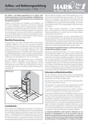 dauerbrand kaminofen hark 702 aufbau und bedienungsanleitung. Black Bedroom Furniture Sets. Home Design Ideas
