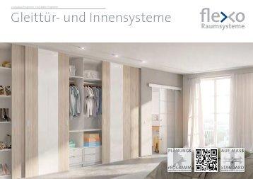 Flexo - Gleittür- und Innensysteme
