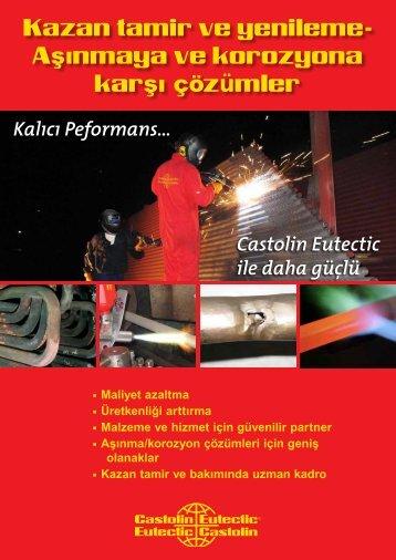 Daha fazla bilgi için lütfen BoilerTec broşürümüzü ... - Castolin Eutectic