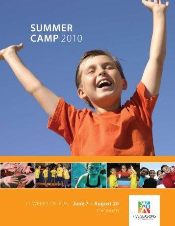 SUMMER CAMP 2010 - Five Seasons Sports Club