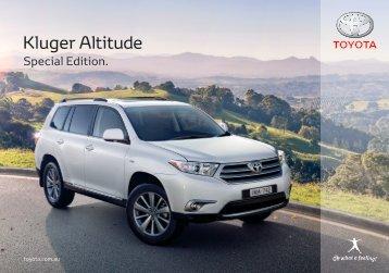 Kluger Altitude - Toyota