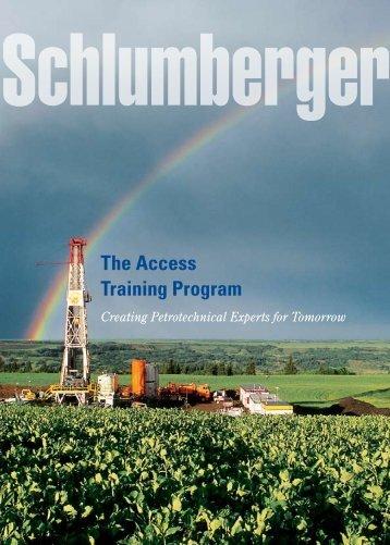 The Access Training Program - Careers, Schlumberger