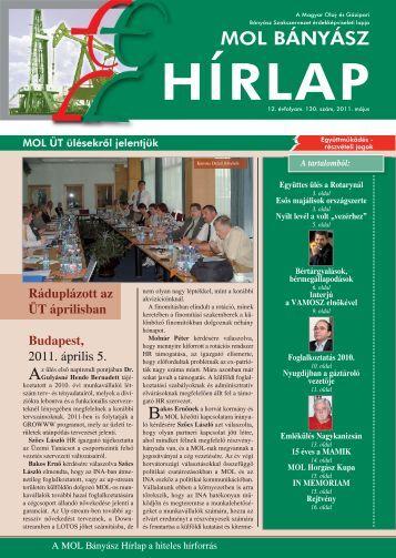 ide kattintva - Magyar Olaj- és Gázipari Bányász Szakszervezet