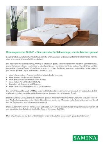 SAMINA Beitrag von Schlafpsychologe Dr. med. h.c. Günther W. Amann-Jennson - Bionergetischer Schlaf.pdf
