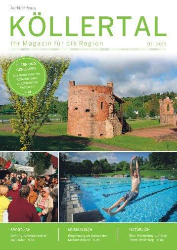 Gemeindemagazin Köllertal 01|2015