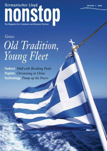 Old Tradition, Young Fleet - GL Group