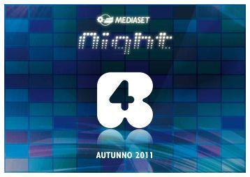 AUTUNNO 2011 - Mediaset.it