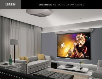 EnSEmblE HD™ Home CINemA SYSTem