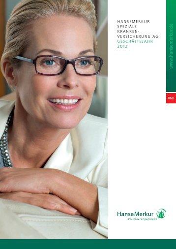 Versicherungsbedingungen - HanseMerkur Krankenversicherung aG