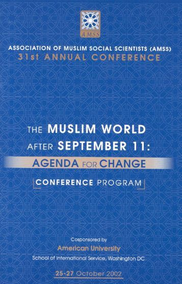 AGEDA O CHANGE - Association of Muslim Social Scientists