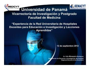 Experiencia en La Red Universitaria de Hospitales ... - RedCLARA