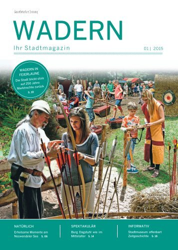 Stadtmagazin Wadern 01|2015